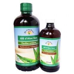 Jus d'Aloe Vera Bio Feuilles Entières - 946ml - Lily of the Desert