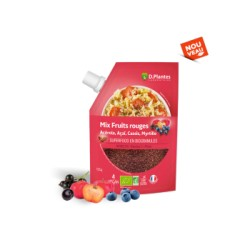 Mix Fruits Rouges - 125gr - D.Plantes