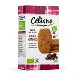 Biscuit Chocolat & Graiens - 150gr - Céliane Gluten Free