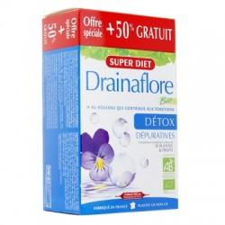 Drainaflore Bio Détox - 20 + 10 Ampoules de 15ml - SuperDiet