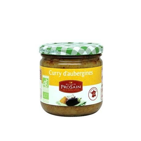Curry d'Aubergines 345g -Maison ProSain
