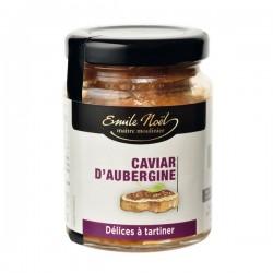 Caviar d'Aubergine à tartiner - 90gr - Emile Noël