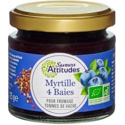 Myrtille 4 Baies Bio - 125gr - Saveurs Attitudes