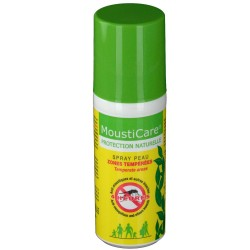 Spray Peau Zones Tempérée - 50ml - Mousticare