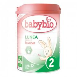 Lunea 2 Formule Epaissie de 6 à 12 Mois Bio - 900gr - Babybio