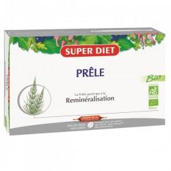 Prêle Bio- Reminéralisation - 20 Ampoules - SuperDiet
