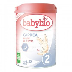 Caprea 2 Lait de 6 à 12 Mois Bio - 900gr - Babybio