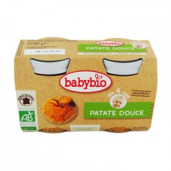 Patate Douce - 2 x 130g - Babybio