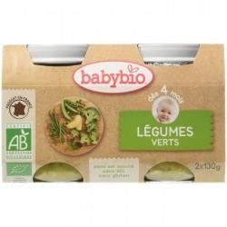 Légumes Verts - 2 x 130g - Babybio