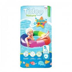 Couche Swim & Play 5L/12-18kg - 11 pièces - Tidoo Nature