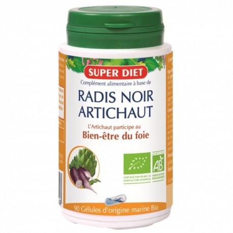 Radis Noir Artichaut- Foie - Gélules - SuperDiet