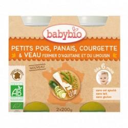 Panais et Jambon de Corrèze - 2x200g - Babybio