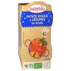 Patate Douce et Légumes du Soleil - 2x200gr - Babybio