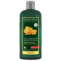 Shampooing Volumateur Miel et Bière Bio - 500mL - LOGONA