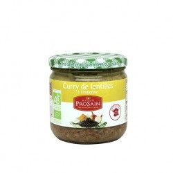 Curry de Lentilles à l'Indienne 345g -Maison ProSain