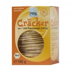 Cracker parmesan Bio - 100gr - Pural