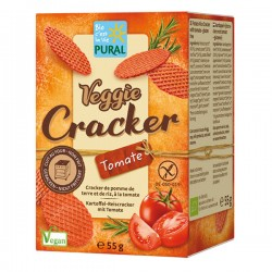 Veggie Cracker Tomate Bio - 55gr - Pural