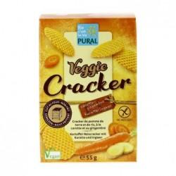 Veggie Cracker Carotte Gingembre Bio - 55gr - Pural