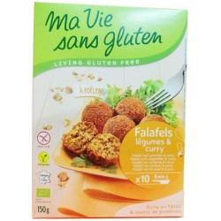 Falafels Légumes & Curry Bio - 150gr - Ma Vie Sans Gluten