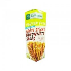 Bâtonnets Salés Sans Gluten - 95gr - Damhert