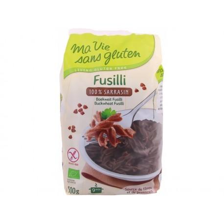 Fusilli Bio 100% Sarrasin 500g-Ma Vie Sans Gluten