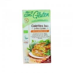 Galettes Bio Riz et Lentilles Corail 200g-Ma Vie Sans Gluten