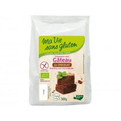 Préparation pour Gâteau Bio au chocolat 300g-Ma Vie Sans Gluten