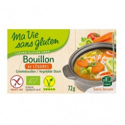 Bouillon de Légume Bio - 72gr - Ma Vie Sans Gluten