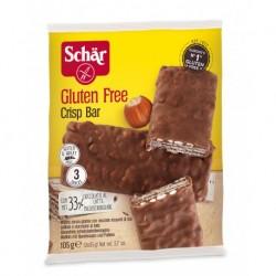 Gaufrettes au Chocolat Avec Noisettes et Riz Soufflé - 3x35gr - Schär