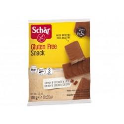 Snack Nappé au Chocolat et Fourré à la Noisette - 3x35gr - Schär