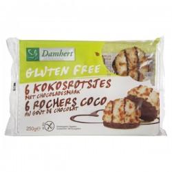 6 Rochers Choco au Goût Chocolat - 250gr - Damhert Nutrition