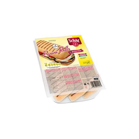 Panini Rolls Sans Gluten 225g (3x75g)-Schär