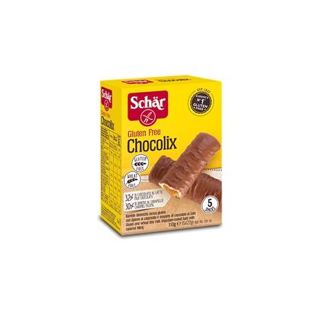 Chocolix Sans Gluten 110g (5x22g)-Schär