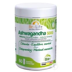 Ashwagandha 5000 Bio - 60 gélules - Be-Life