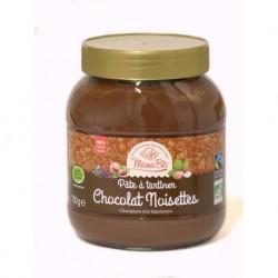 Ma Pâte à tartiner Chocolat Noisettes - 350g - Mamie Bio