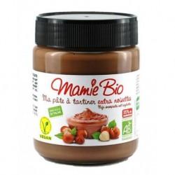 Ma Pâte à tartiner Chocolat 35% Noisettes Sans Gluten - 270g - Mamie Bio