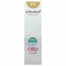 Huile de CBD Bio 4% - 30ml - Cibdol