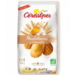 Madeleines à l'Epeautre - 200gr - Céréalpes