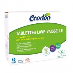 Tablettes Lave-Vaisselle - 30 Lavages - Ecodoo
