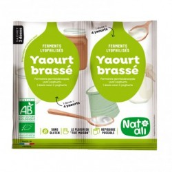 Yaourt Brassé - 2x6gr - Nat-Ali