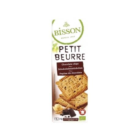 Petit Beurre aux Pépites de Chocolat Noir 150g-Bisson