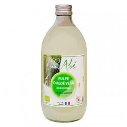 Pulpe D'Aloe Vera Bio et Equitable - 500ml - Pur Aloé