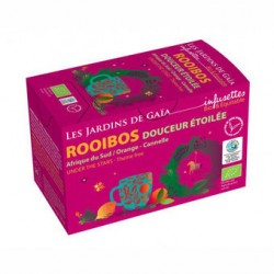 Rooibos Douceur Etoilée - 20 Sachets - Les Jardins de Gaïa