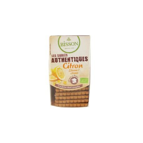 Les Sablés Authentiques Citron 183g-Bisson