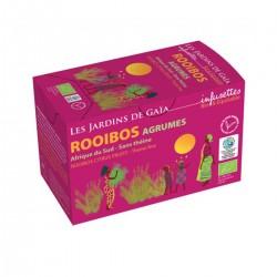 Rooibos Agrumes - 20 Infusettes - Les Jardins de Gaia