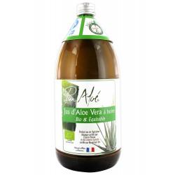 Jus d'Aloe Vera à Boire Bio et Equitable - 1000ml - Pur Aloé
