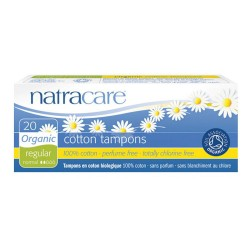 Cotton Tampons Regular - 20 pièces - Natracare
