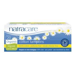 Cotton Tampons Regular - 20 pièces - Natracare