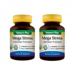 Lot de 2 Boites de Méga Stress - 30 Comprimés - Nature's Plus