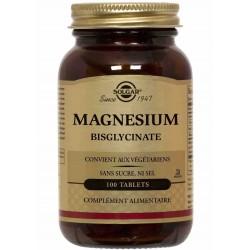 Magnesium Bisglycinate - 100 Tablets - Solgar